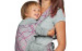 Хипсит для ребенка — спасение для мамы маленького непоседы