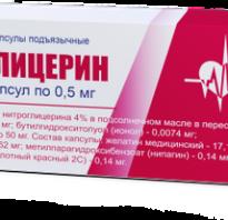 Показания к применению препарата Нитроглицерин при повышенном давлении