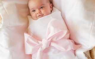Первый месяц жизни малыша