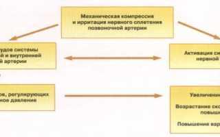 Артериальная гипертензия и шейный остеохондроз: особенности патогенеза, диагностики и лечения