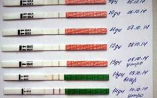 Тест на беременность после ЭКО