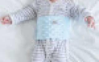 Применение детской солевой грелки при коликах у новорожденных