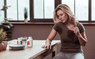 Приливы жара и пота у женщин: симптомы, лечение в Киеве
