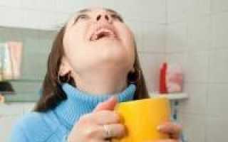 Полоскание горла при беременности