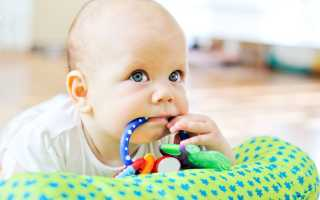 Ребенок в 3 месяца развивающие игры и упражнения дома