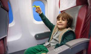 С какого возраста можно летать на самолете без сопровождения